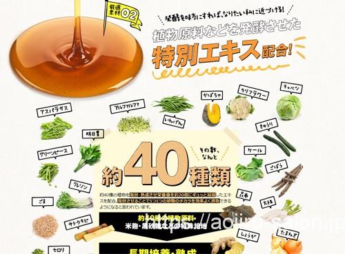 40種類の野菜エキス