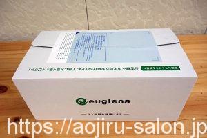 そんな魅力にあふれたユーグレナの緑汁 粒タイプの箱
