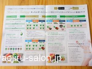 めっちゃぜいたくフルーツ青汁の美的ダイエットファスティングプログラム